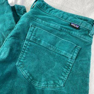 Patagonia Women's Fitted Corduroy Pants - Teal